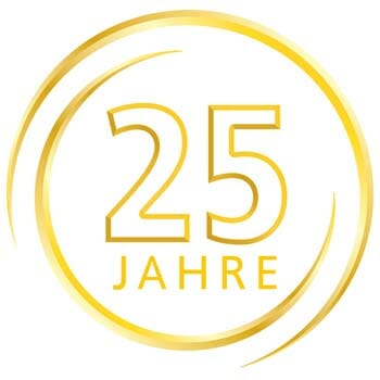 Emblem 25 Jahre intellior AG