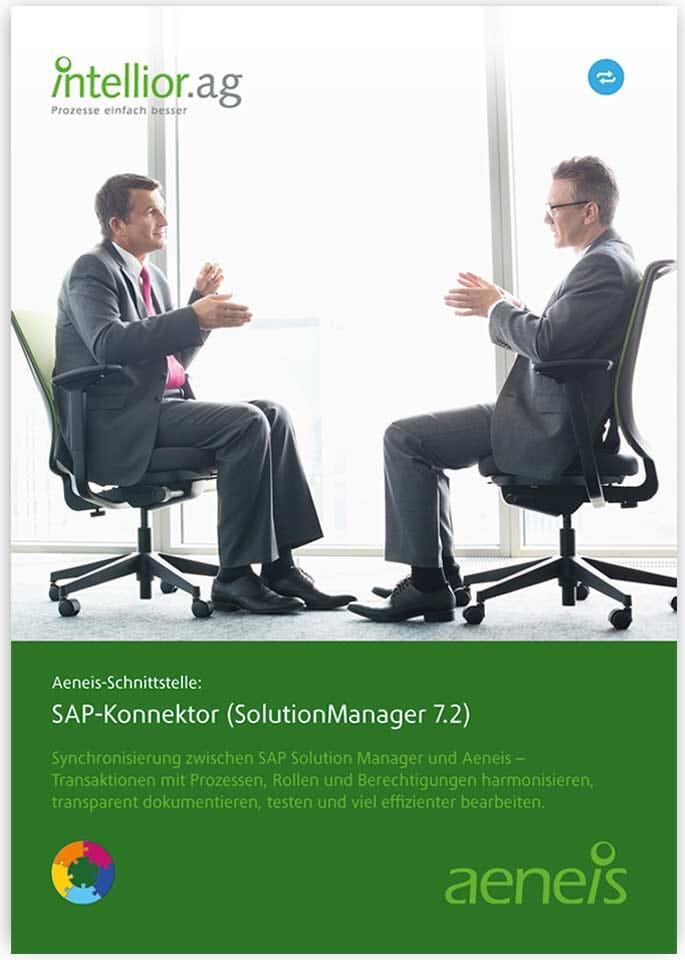 "Titelseite des Aeneis-Detailfolders ""SAP-Konnektor"""