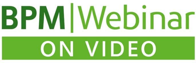 Emblem: BPM|Webinar on Video