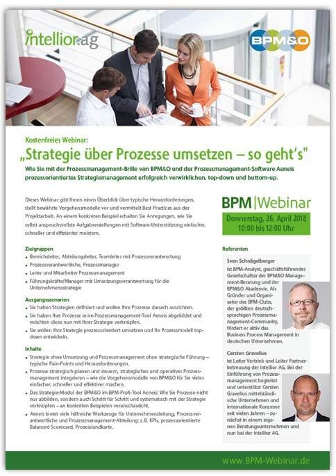 BPM|Webinar Strategiemanagement