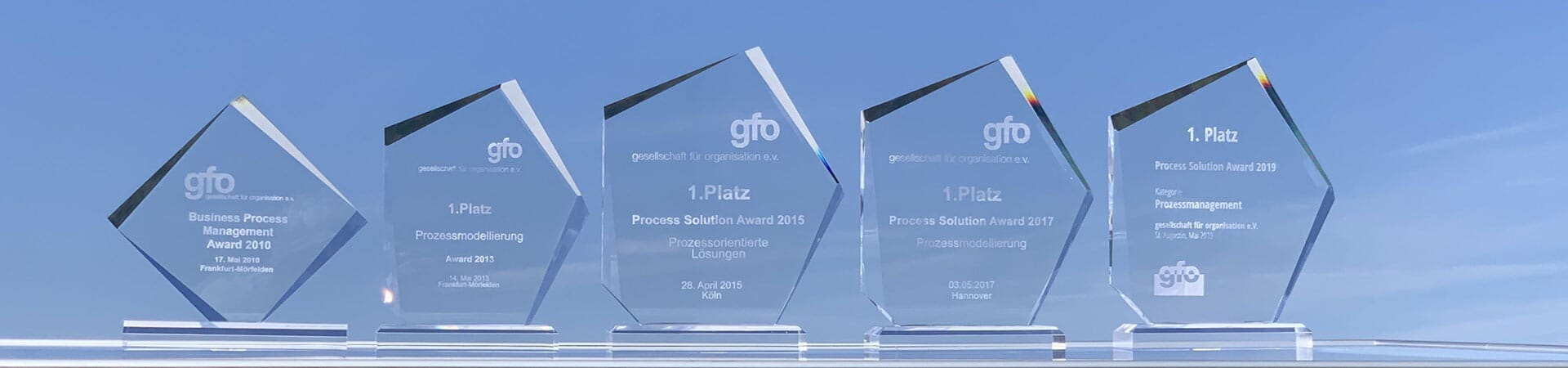 gfo-Awards der intellior AG