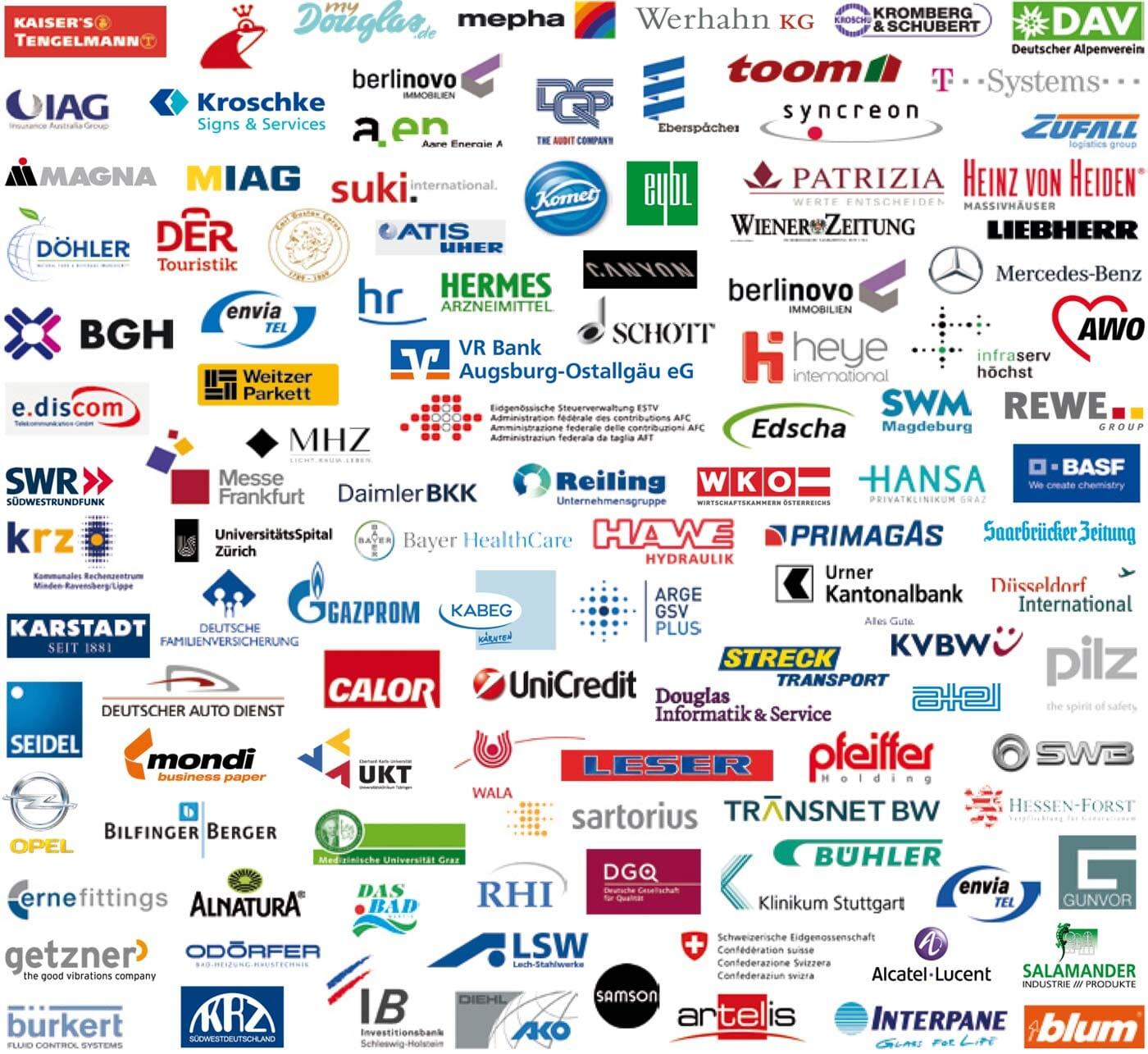 Kunden der intellior AG - Logos