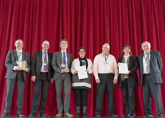 PSD-Award 2017 - Ehrung auf der Bühne